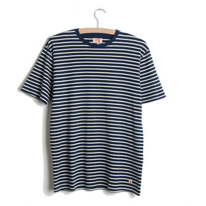 Heritage S/S Tee - Dark Blue / Nature