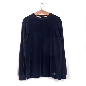 Sweat Peau de Peche - Blue