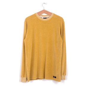Sweat Peau de Peche - Yellow