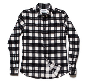 Buffalo Check White
