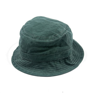 Bucket Hat - Green - White contrast