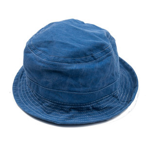 Bucket Hat - Indigo - White contrast
