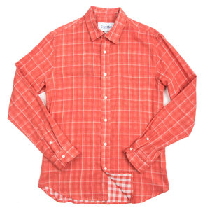 Double Cloth Plaid - Tangerine
