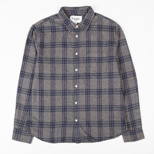 Grey Check Flannel