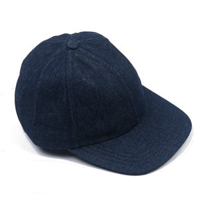 Indigo Denim Cap - Blue
