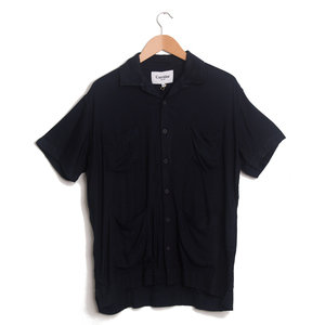 Navy Twill Modal 4 Pocket Shirt