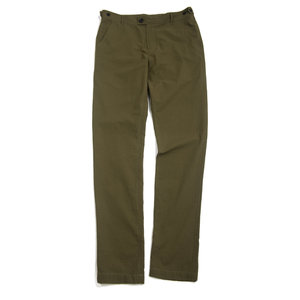 Seersucker Trousers - Olive