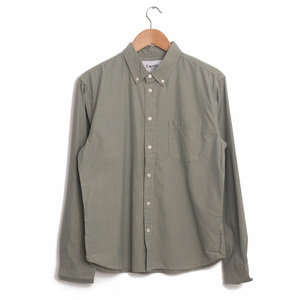 Summer Olive Check LS