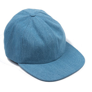 Washed Blue Denim Cap
