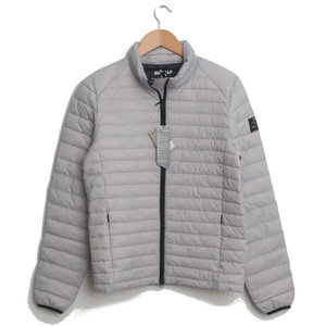 Beret Down Jacket - Light Grey
