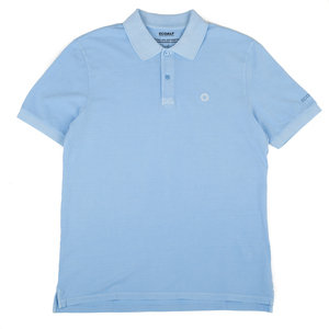 PIQUE POLO 'TED CLASSIC' - LIGHT BLUE