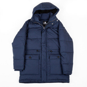 Edwin Steet Parka - Dress Blue