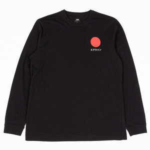 Japanese Sun LS Tee Shirt - Black