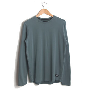 Terry L/S T-Shirt - GOBLIN GREEN