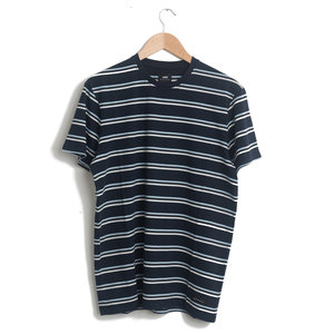 West Stripe Tee Shirt - Navy