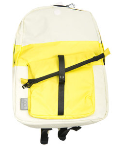 C6 x Folk Backpack - Natural with Yellow