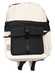 C6 x Folk Backpack - White with Black