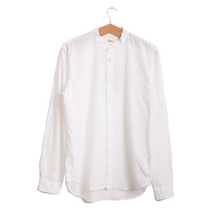 Grandad Shirt - White