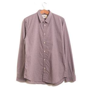 Smart Shirt - Burgundy Dogtooth