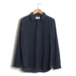 Baby Cord Shirt - Smokey Blue