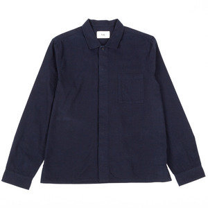 Patch Shirt - Navy
