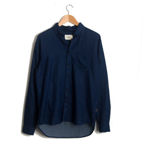 Relaxed Fit Shirt - Double Indigo