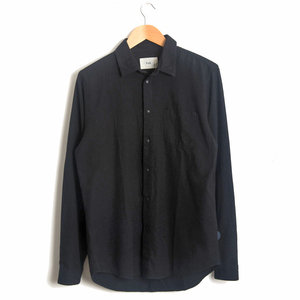 Stitch Pocket Shirt - Black