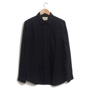 Stitch Pocket Shirt - Navy