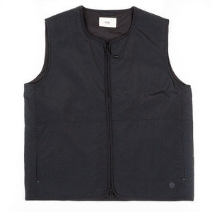 Wadded Gilet - Black Micro Ripstop