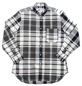 Santiago Shirt - Black White Check