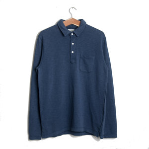 L/S Light Polo - Blue