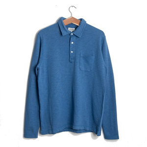 L/S Light Polo - Sky Blue