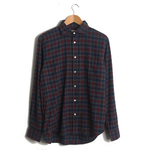Penn - Blue-Grey-Red Flannel Plaid