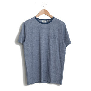 Pocket Crew Tee - Navy