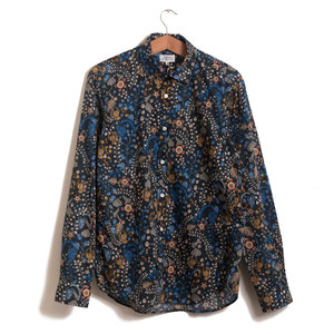 Sammy - Liberty Print Navy with Multi Florals