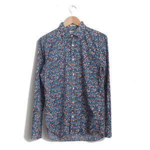 Sammy - Liberty Print - Small floral on Navy