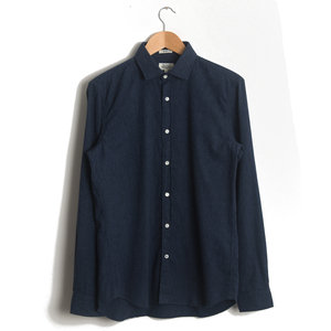 Sammy - Pin Point Blue and Navy Flannel