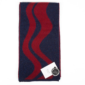 VAGUES SCARF - RED/NAVY