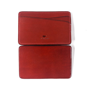 MAGIC CARD WALLET - BURNT RED