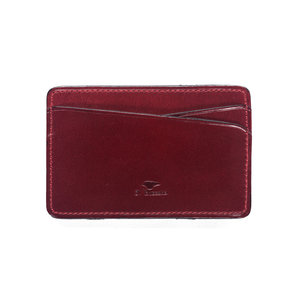 MAGIC CARD WALLET - CHERRY RED