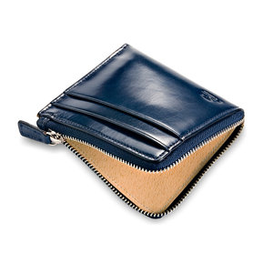 SMALL ZIPPY WALLET - NAVY