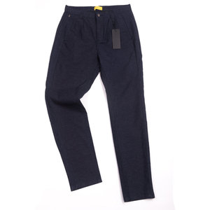 Taper Theo Oxford Pants - Navy