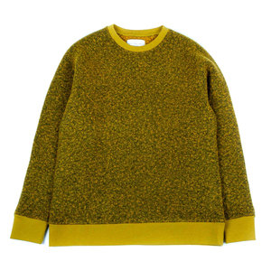 DURNESS SWEAT - POLLEN YELLOW BOILED WOOL