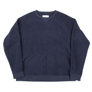 HAYMARKET SWEAT - NAVY POLAR FLEECE
