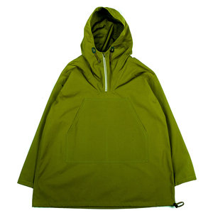 NEVIS SMOCK - MILITARY GREEN WATER REPELLENT VENTILE
