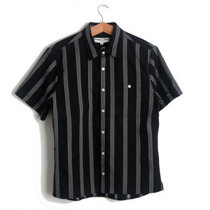 Dillon Shirt - Black Stripe