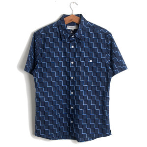 Dillon Shirt - Blue Pattern