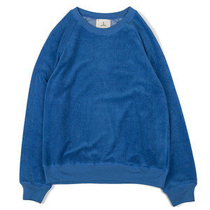 Cunha - Towelling Sweat - Blue