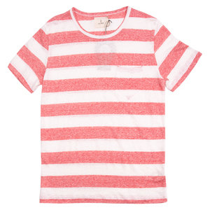 Guerreiro Tee - Wide Red Stripes