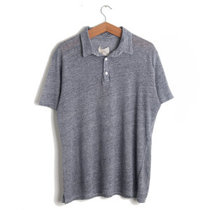 Leao Polo Shirt - Blue Mesc Stripes